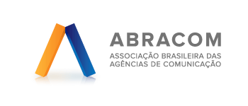 Logo da ABRACOM, apoiadora do evento